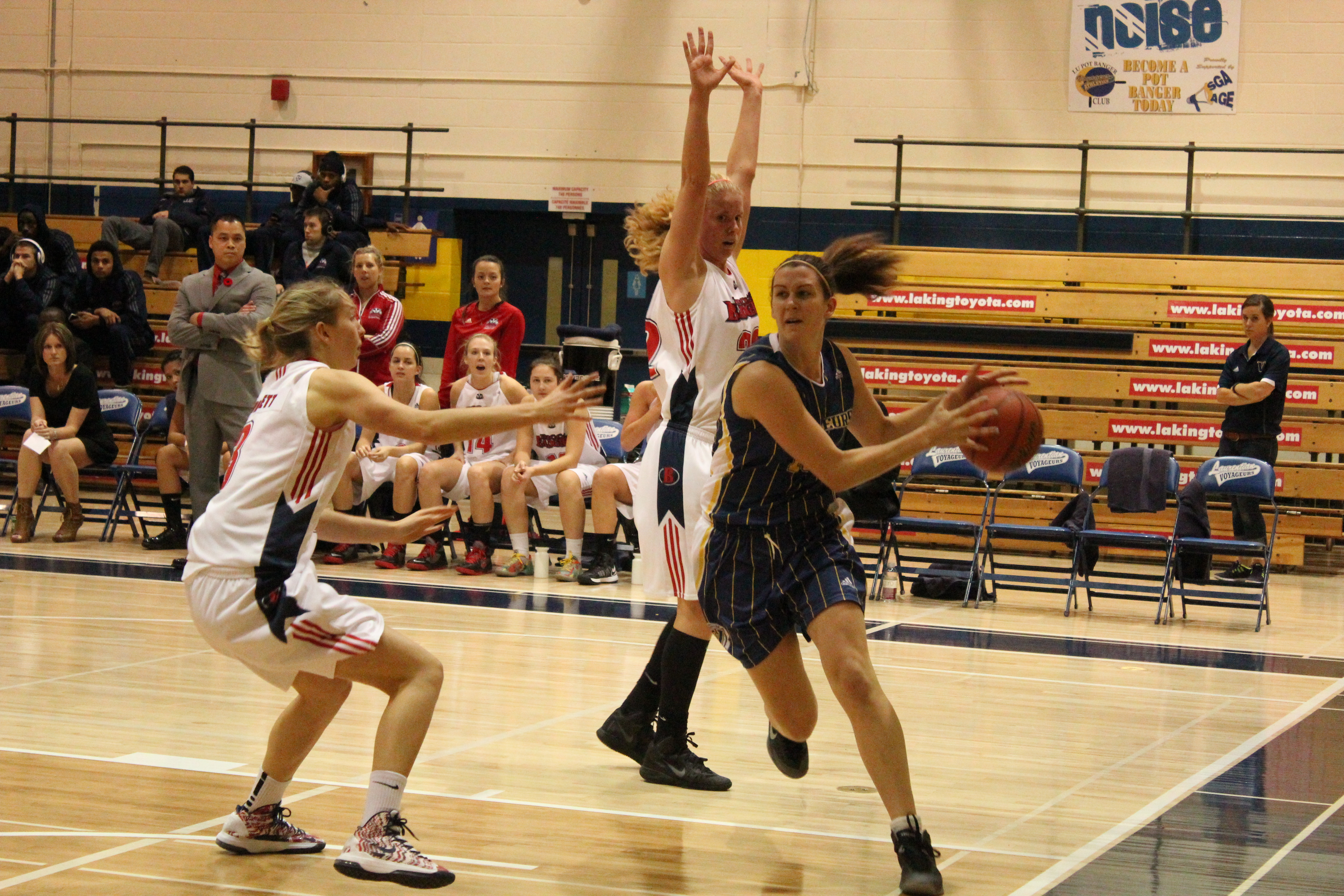 Laurentian pics from games 003