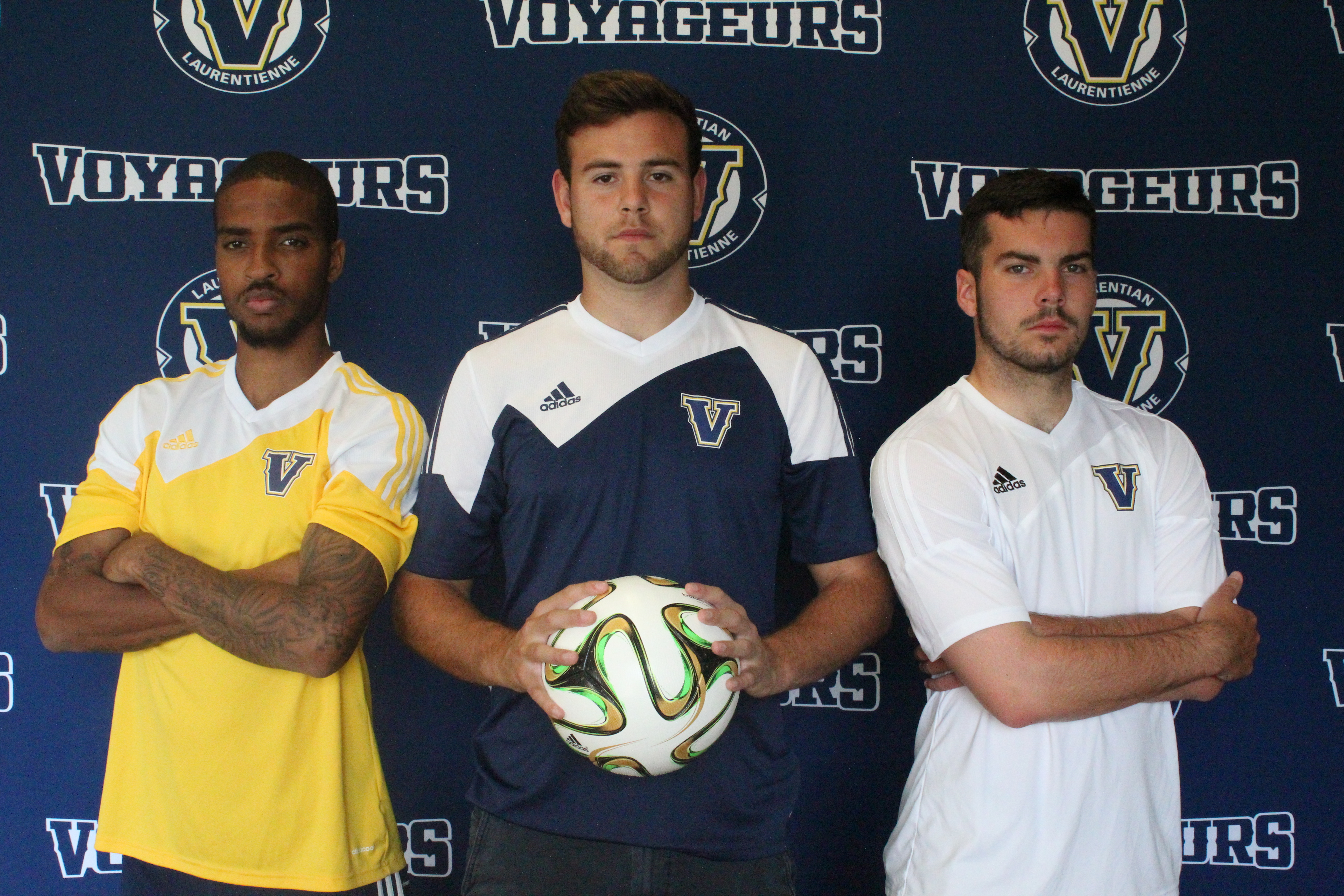 Pictured above (from left) Omar Allison, Duncan Jobson, Cameron Brooks. Photo by Gabriel Rodrigues.