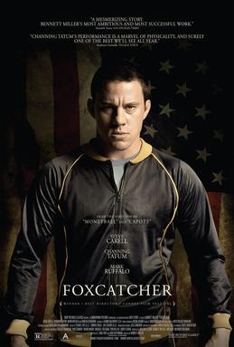 Foxcatcher poster, from the Cinefest website.
