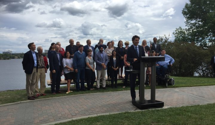 PM Bell Park Press Conference