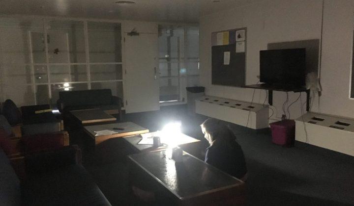 Huntington University power outage